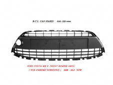 FORD FIESTA MK 8  GRILL FOR BUMPER  ( CHROME SURROUND  TYPE )  ONLY   2008 - 200-12